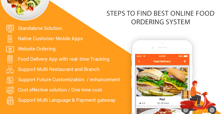 How to find best Online Food Ordering System for Restaurants Business