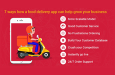 7 ways how Food Delivery App can help grow your restaurant business