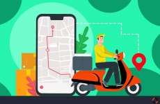 Last mile delivery challenges in multi restaurant ordering system